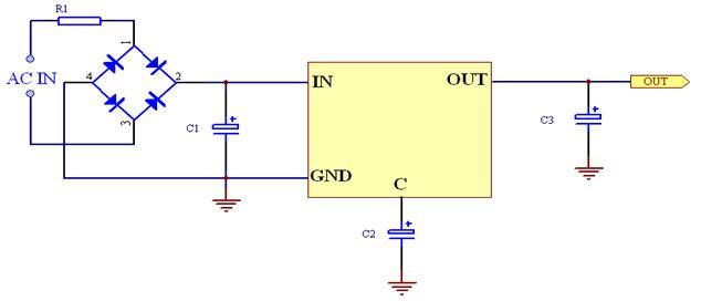 微功耗电源电路